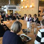 Piirin entisten puheenjohtajien lounastilaisuus